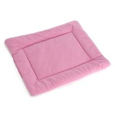 Lembut Hangat Kucing Anjing Kucing Puppy PET Bed Sofa Empuk Keranjang Rumah Kandang Pad Pink L