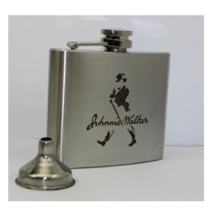 Jual Sohoku Botol Minum Whiskey Hip Flask Model Jw 5 Oz Silver Di West Kalimantan