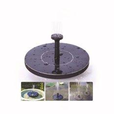 Air Mancur Mandi Matahari Pompa, Pengairan Luar Ruangan Pompa Submersible, Free Standing Pompa Air dengan 1.4 W Solar Panel untuk Taman Kolam Renang PATIO-Intl