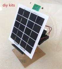 Solar Panel Power Generasi Pengontrol Pelacak Ponsel Charger Elektronik Teknologi DIY Produksi Kecil-Intl