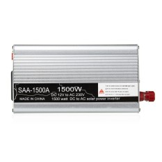 Solar Power Inverter 1500 W Puncak 12 V DC untuk 220 V AC Modified Sine Wave Converter-Intl