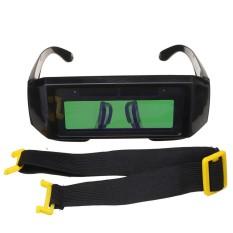 Tenaga Surya Bertenaga Otomatis Penggelapan TIG Welding Helm Perisai Mata Goggle Kacamata Busur-Internasional