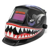 Beli Solar Welder Mask Electrowelding Auto Darkening Welding Helmet Shark Mouth Intl