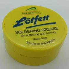 Toko Solder Pasta Lotfett Soldering Grease 50 Gram Lengkap