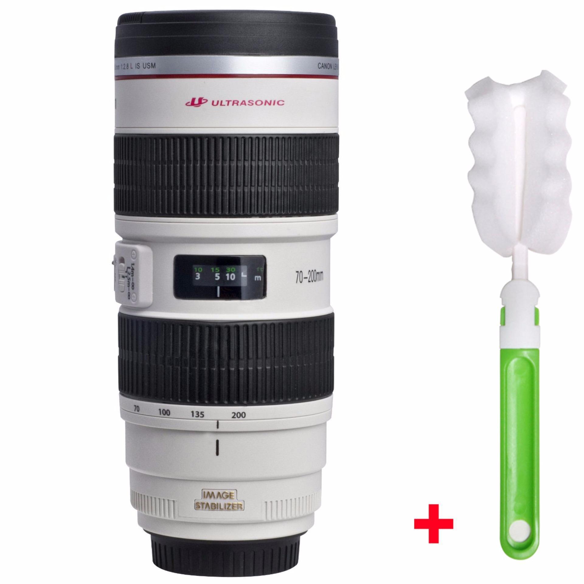 Somine Camera Lens Mug Caniam 70-200mm 1:1 Model Coffee Cup Travel Mug