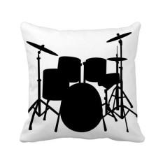 Song Musik Drum Perlengkapan Energi Bantal Bantal Sarung Bantal Sofa Rumah Dekorasi Hadiah-Internasional