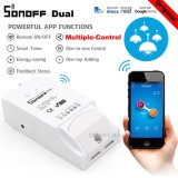 Ulasan Sonoff Itead Dual 2 Gang Smart Home Wifi Wireless Switch Modul To Apple Android