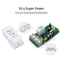Toko Sonoff Pow Wifi Switch Remote Control 16A Pengukuran Konsumsi Daya Timer Intl Murah Tiongkok