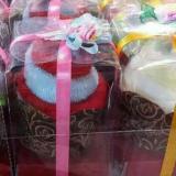Jual Souvenir Pernikahan Design Cup Cake Isi 50Pc Satu Set