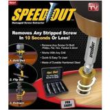 Jual Speedout Scr*w Extractor Removes Any Stripped Scr*w Set Of 4 Damaged Scr*w Remover Intl Branded Murah