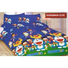 Isthana Collection Sprei Bonita 160x200 Doraemon Cute (Buat Kasur No. 2)