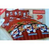 Harga Sprei Bonita 160X200 Doraemon Red Bonita Disperse Ori