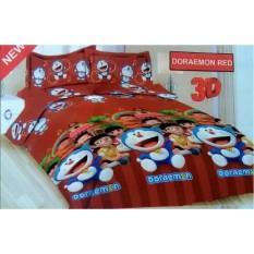 Beli Sprei Bonita 160X200 Doraemon Red Online Terpercaya