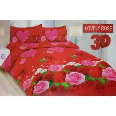 Isthana Collection Sprei Bonita 160x200 Lovely Rose