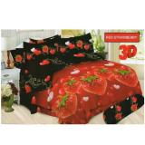 Harga Sprei Bonita 180X200 Red Strawberry Termahal
