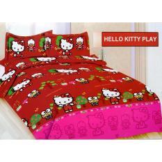 Tips Beli Sprei Bonita Hello Kitty Play King 180×200
