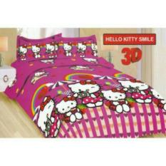Sprei Bonita King 180 Motif Hello Kitty Smile Diskon Akhir Tahun