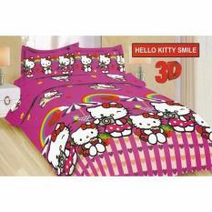 Jual Sprei Bonita King 180 X 200 Hello Kitty Smile Baru