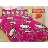 Harga Sprei Bonita King 180 X 200 Pink Kitty