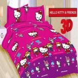 Spesifikasi Sprei Bonita No1 180X200 Hellokitty And Friends Online