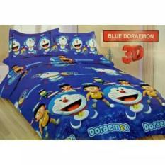 Cara Beli Sprei Bonita No 2 160 X 200 Queen Size Motif Blue Doraemon