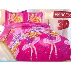 Spesifikasi Sprei Bonita Princess 3D King 180×200 Terbaik