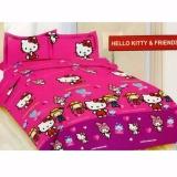 Harga Hemat Sprei Bonita Single 120 X 200 Hello Kitty Friends
