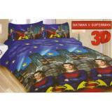 Spesifikasi Sprei Bonita Single Uk 120X200 Motif Batman Superman Yg Baik