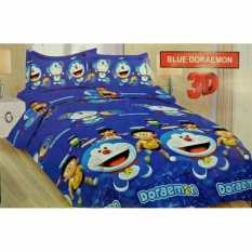 Sprei Bonita Uk. 180 x 200 Motif Blue Doraemon