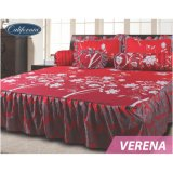 Jual Sprei California Rumbai Motif Verena King Size 180 X 200 Cm California Original
