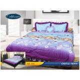 Review Sprei California Single Uk 120X200 Motif Sofia Castle Terbaru