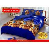 Beli Sprei D Luxe Kintakun Ukuran 180 X 200 France Bear Online Terpercaya