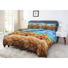 Spek Sprei Deluxe Kintakun Golden Bear Ukuran 120X200 Indonesia