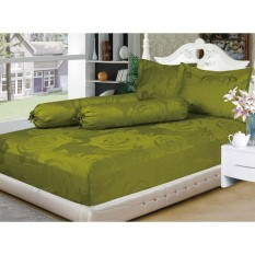 Sprei Emily King bantal 2 (180x200) green