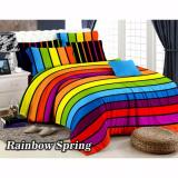 Kualitas Sprei Fata King 180 X 200 Rainbow Spring Fata