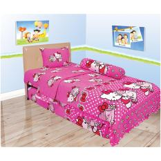 Beli Sprei Internal Single 120 Hello Kitty Miss Hug Kredit Jawa Barat