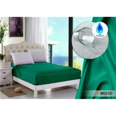 Jual Sprei Jaxine Waterproof Anti Air Sprei Only Hijau Tosca Baru