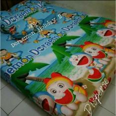 Toko Sprei Karakter Motif Doraemon180X200X20 Lengkap Di Jawa Barat