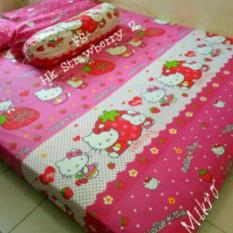 Review Sprei Karakter Motif Hello Kitty Ukuran 180X200X20 Jk Collection