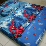 Spesifikasi Sprei Karakter Motif Spiderman New Single Murah