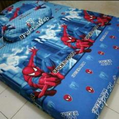Jual Sprei Karakter Motif Spiderman New Single Jk Collection Di Jawa Barat
