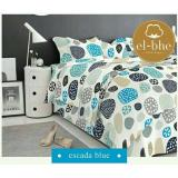 Review Toko Sprei Katun Motif Escade Blue Uk 180X200X30