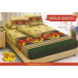 Beli Sprei Kintakun D Luxe 160X200 Gold Guci Terbaru