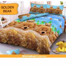 Toko Jual Sprei Kintakun D Luxe King 180 X 200 B4 Golden Bear