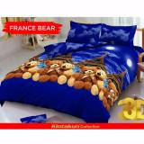 Jual Sprei Kintakun D Luxe Queen 160 X 200 France Bear Branded