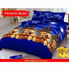 Harga Sprei Kintakun D Luxe Queen 160 X 200 France Bear New