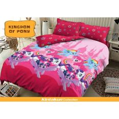Jual Sprei Kintakun D Luxe Uk 180X200 Motif Kingdom Of Pony Original