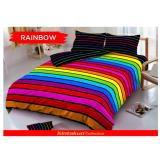 Beli Sprei Kintakun D Luxe Uk 180 X 200 Motif Rainbow Cicilan