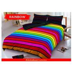 Jual Sprei Kintakun D Luxe Uk 180 X 200 Motif Rainbow Sepray