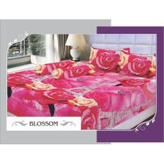 Jual Sprei Kyoto Blossom Queen Size 160X200 Multi Grosir